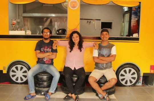 Two Returnees from Oman to Open Fries Food Chain in Nepal: Aalucha