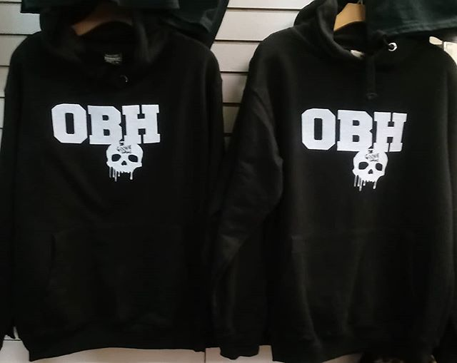 OBH's Hoodies available at #TheGShop