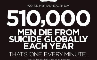 MOVEMBER: MEN'S MENTAL HEALTH MONTH