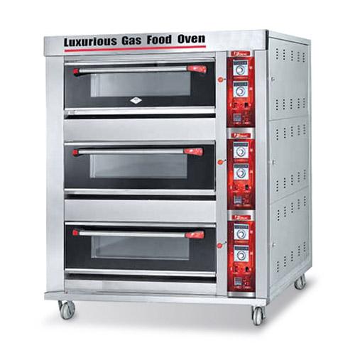 Mesin Oven Gas Deck Roti ARF 60H Glodok Mesin