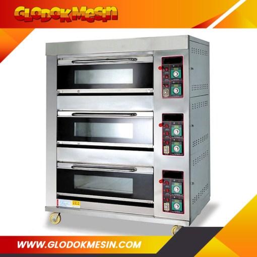 Oven Gas Roti ASTRO 3 Deck