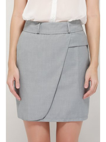 Firstgrabber Graceful OL Style Women's Pencil Skirt(With Belt)