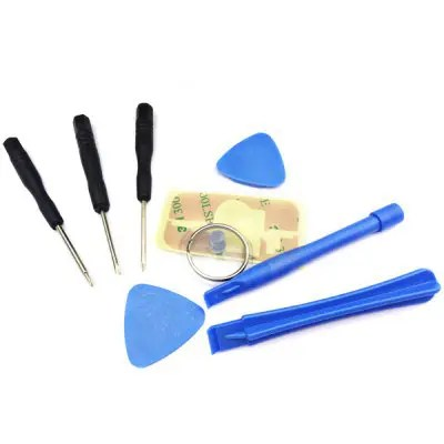 9 - in - 1 Repair Opening Tool Kit Portable Precision Screwdrivers Disassembly Set - AS THE PICTURE