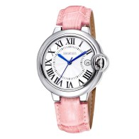 WeiQin 2734 Genuine Leather Band Female Japan Quartz Watch