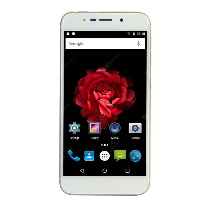 "Uhappy UP720 MT6737 4G Quad-core 1.3GHz Android 6.0 2GB RAM 16GB ROM TF 5.0MP front camera and 13.0 MP rear camera 5.0"" HD 1280*720 Pixels on-cell screen 10 points Fingerprint 2500 mAh Wi-Fi Blueto"