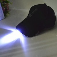 Fishing Camp Night LED Light Baseball Cap