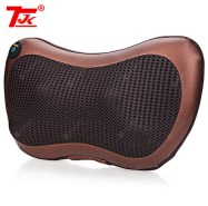 TJK Multifunction Massager Pillow Automobiles Home Dual-use Infrared Heating
