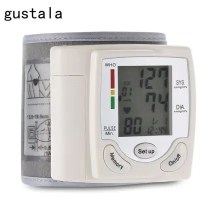 gustala CK-101S Wrist Type Blood Pressure Monitor