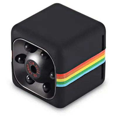 SQ11 Mini Camera 1080P HD DVR - BLACK