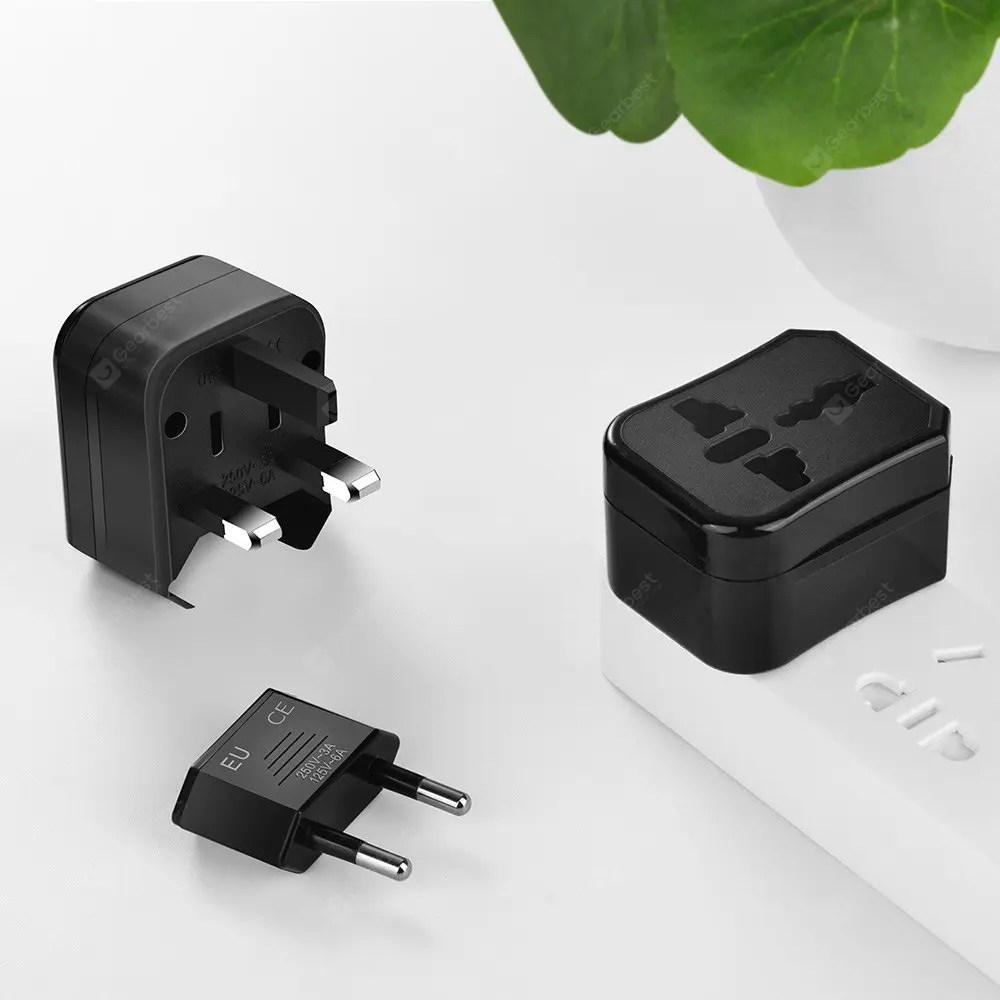 Gearbest HOCO Travel Plug Adapter Kit with Storage Box