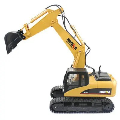 HUINA 1550 1:14 2.4GHz 15CH RC Alloy Excavator