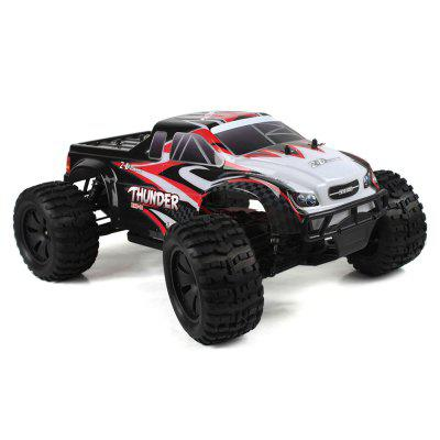 ZD Racing 10427 - S 1:10 Big Foot RC Truck - RTR - BRUSHLESS VERSION BLACK AND RED