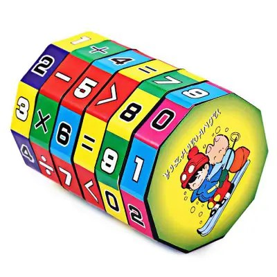 Plasctic 6 Layers Puzzle Cube Children Education Learning Math Toy for Kids