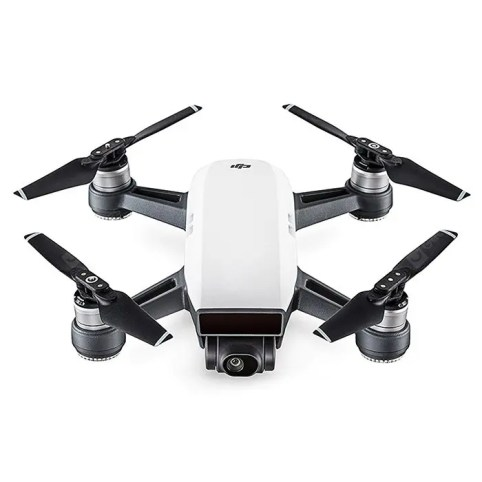 Gearbest DJI Spark Mini RC Selfie Drone - WHITE BN WiFi FPV 12MP Camera / 2-axis Mechanical Gimbal / Gesture Mode