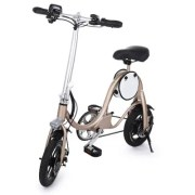 YT S1 12 inch Tire Smart Moped Folding Electric Bike Bicycle E-bike