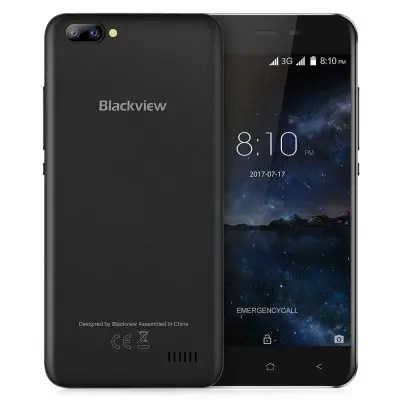 Gearbest Blackview A7 3G Smartphone