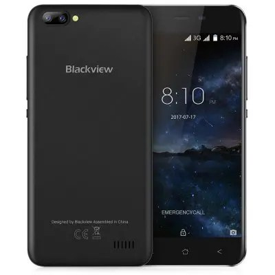 Blackview A7 3G Smartphone Android 7.0 5.0 inch top 10 telefoane ieftine pe gearbest, sub 100 usd!
