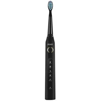 SEAGO SG - 507 Electric Rechargeable Sonic Toothbrush - BLACK