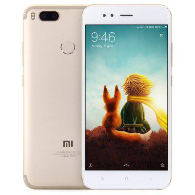 Gearbest Xiaomi Mi 5X 32GB ROM 4G Phablet - GOLDEN 4GB RAM Dual Rear 12.0MP Zoom Lens Touch Sensor English and Chinese Version