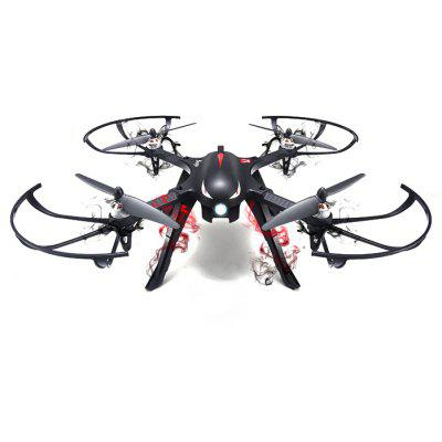 Gearbest MJX B3 Bugs 3 RC Quadcopter - RTF - BLACK Two-way 2.4GHz 4CH with Independent ESCs Sports Camera Bracket