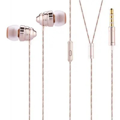 UIISII US90 In-ear Wired Powerful Bass Earphones with Mic
