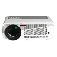 HTP LED - 86+ 1280 x 800 Pixels 3600 Lumens Home Theater LED Projector Support 2 x HDMI 2 x USB Input
