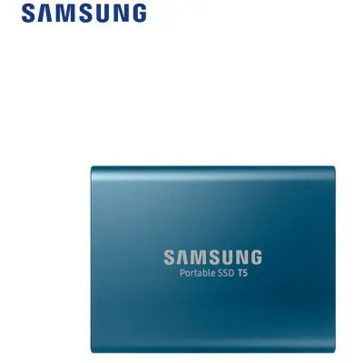 Samsung T5 Portable SSD with USB 3.1 / Hardware Encryption - 500GB
