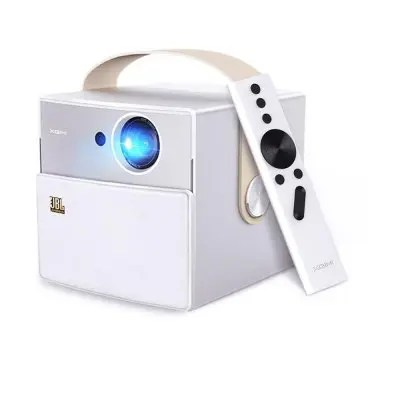 Gearbest XGIMI CC Aurora Mini Portable Projector LED 1080P Full HD - CRYSTAL CREAM Android 5.1.1 3D 1280 x 720 WiFi HDMI Bluetooth Home Theater