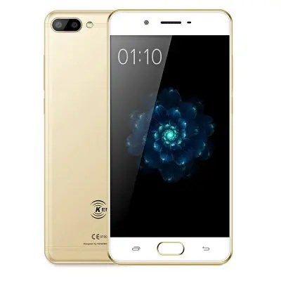 Ken Xin Da X6 3GB RAM 32GB ROM Golden Color 4G Smartphone