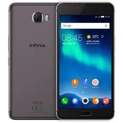 Infinix Note 4 Pro ( X571 ) 3GB RAM 32GB ROM 13.0MP Rear Camera Global Version Gray Color 4G Phablet