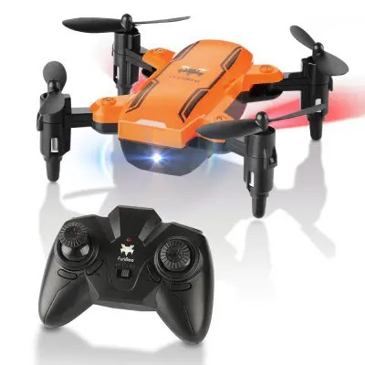 Gearbest H815 2.4GHz 4CH 6 Axis Gyro Remote Control Mini Quadcopter - ORANGE