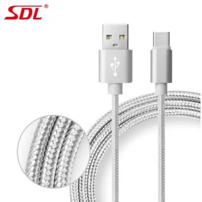 SDL Type-C Data Quick Charging Cable - 1M - GRAY