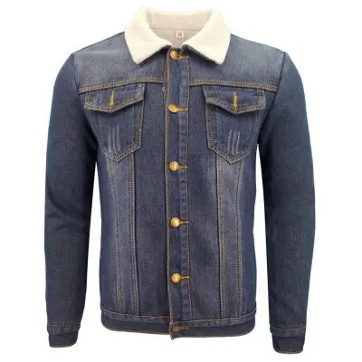 Men'S Winter Casual Coat Jacket with A Thick