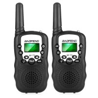 2PCS BAOFENG BF - T3 Wireless Walkie Talkie ( EU Version )  -  BLACK
