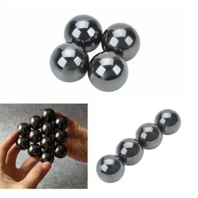 Tool 4Pcs Magnetic Balls Fidget Cube Spinner Hand Big Beads Skam Polymorph - 6 AS THE PICTURE