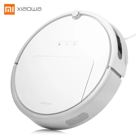 Gearbest Xiaowa Intelligent Sweeping Robot Vacuum Cleaner - WHITE
