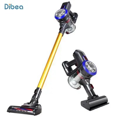Dibea D18 Cordless Vacuum Cleaner with Motorized Brush GOLD PSE
