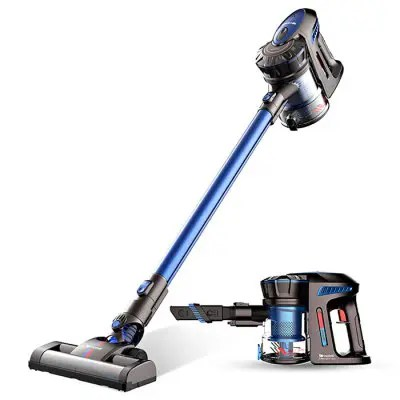 Gearbest Proscenic P8 Wireless Smart Handheld Vacuum Cleaner - BLUE EU PLUG