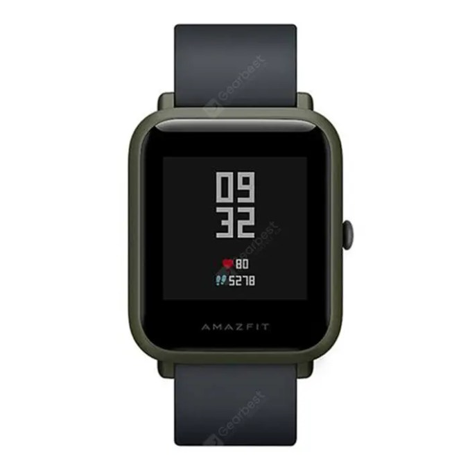 Gearbest Xiaomi AMAZFIT A1608 Bip Lite Version Smart Watch