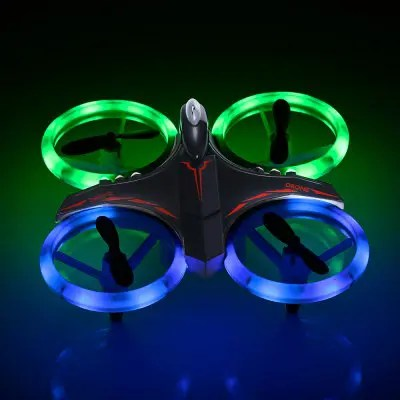 GS XXD158 YW Light Propeller Protection RC Drone BLACK