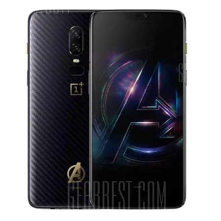 Gearbest OnePlus 6 Marvel Avengers Limited Edition