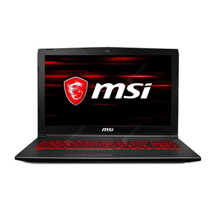 MSI GV62 8RD - 093CN Gaming Laptop