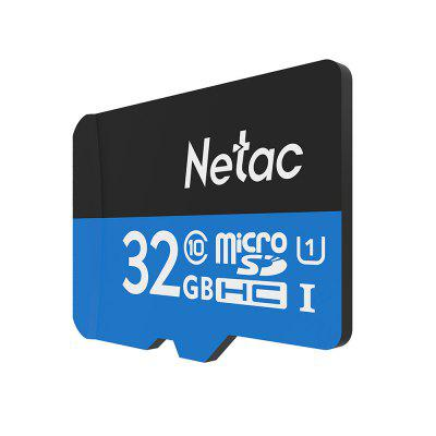 Gearbest Netac P500 Micro SD Card 32GB - BLUE EYES 32GB TF Card 80MB/s 10MB/s Class 6