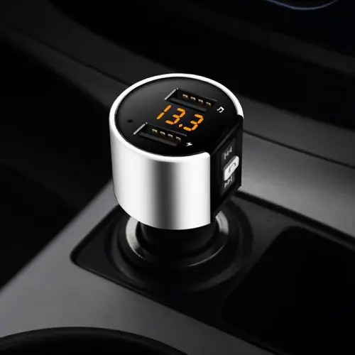 C26S Bluetooth FM Transmitter Wireless Car Charger