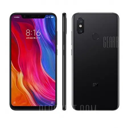 Xiaomi Mi 8 4G Phablet English and Chinese Version
