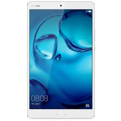 Gearbest HUAWEI MediaPad M3 ( BTV-DL09 ) 4G Phablet Fingerprint Recognition - SILVER 8.4 inch Android 6.0 HiSilicon Kirin 950