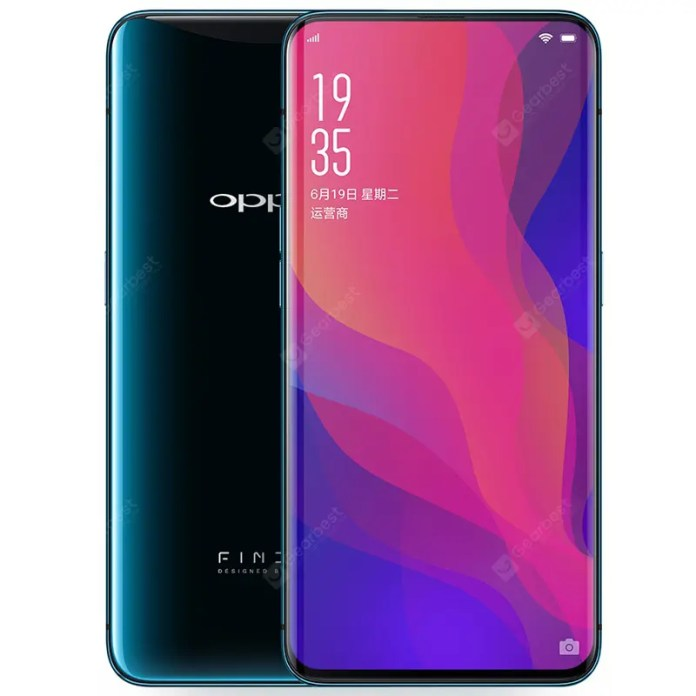 OPPO Find X 4G Phablet English and Chinese Edition