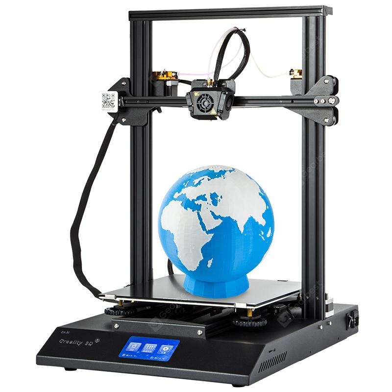 Creality3D CR – X Quickly Assemble 3D Printer 300 x 300 x 400mm – Black EU Plug 29Jul