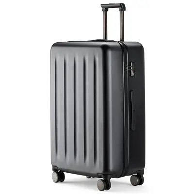 Gearbest 90FUN PC Suitcase with Universal Wheel - BLACK 20 INCH