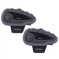 VNETPHONE V8 Motorcycle Helmet Bluetooth Intercom Headsets 2pcs